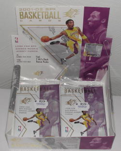 2001-02 Upper Deck SPX Basketball Pack