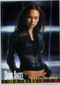 Jessica Alba Dark Angel Topps promo card # P1