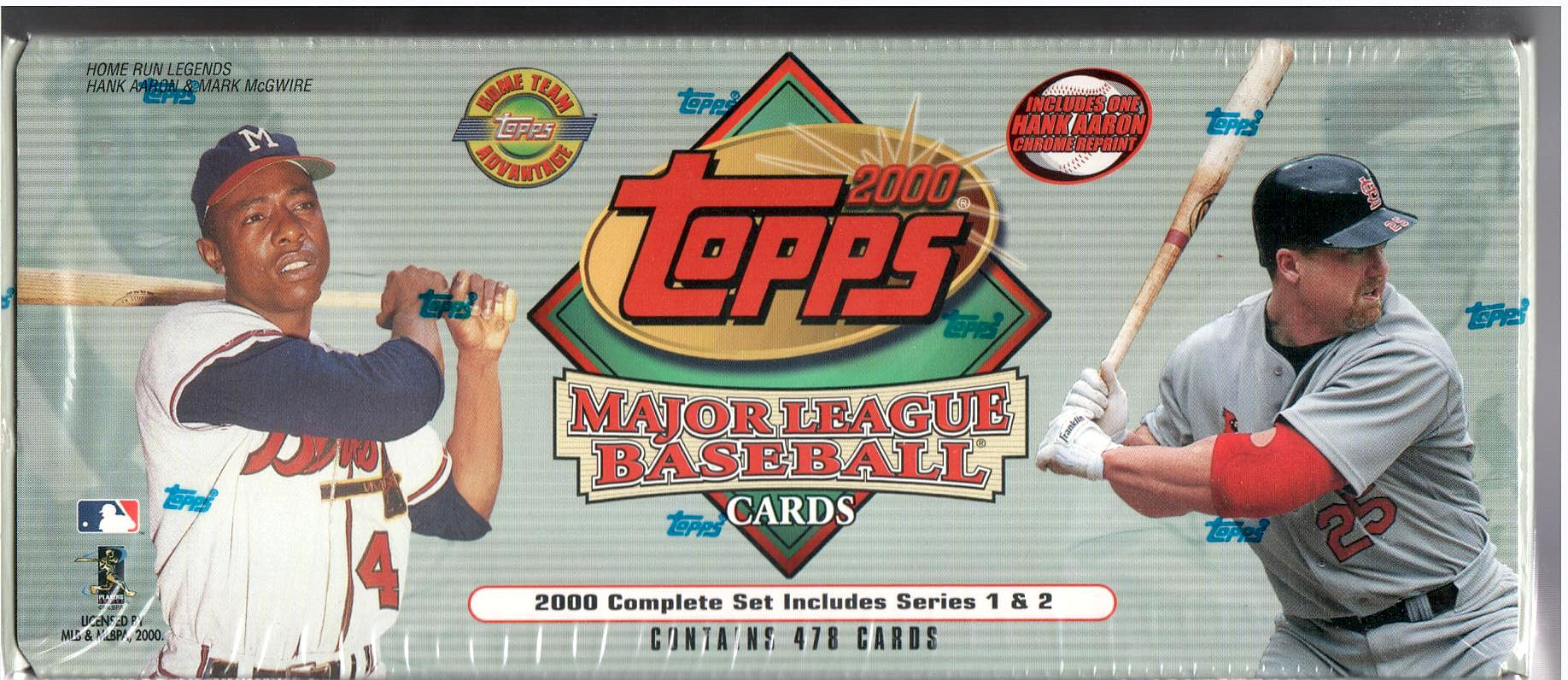 2000 TOPPS BASEBALL FACTORY SEALED SET