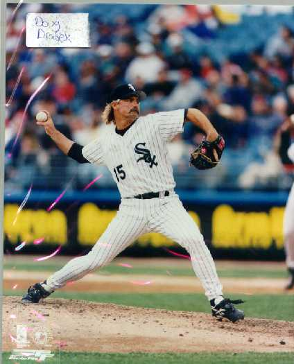 White Sox Doug Drabek color 8 x 10 photo