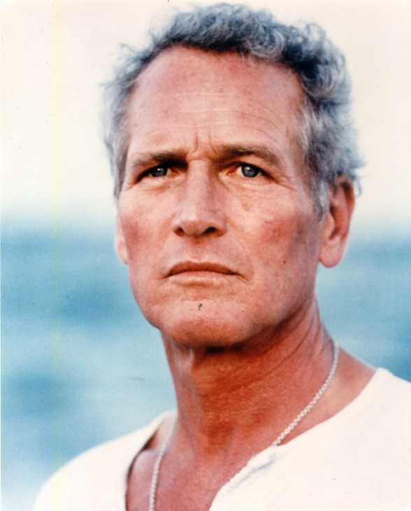 Oscar winner Paul Newman color photo