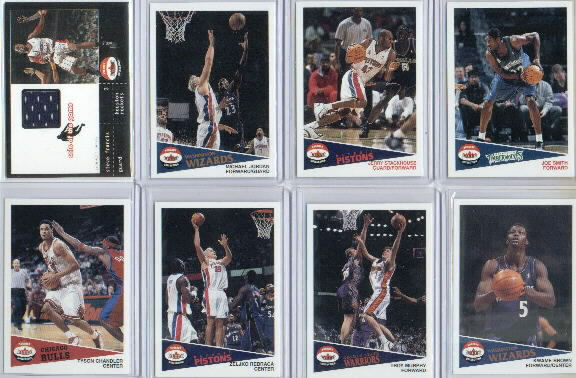 2001-02 Fleer Shoebox #179 Tyson Chandler RC