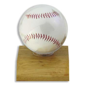 Ultra-Pro #81208  Real Wood Baseball Ball Holder