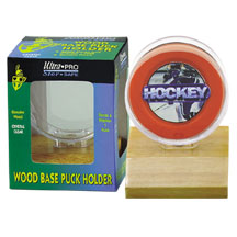 Ultra-Pro #81212  Real Wood Puck Holder (lot of 10)