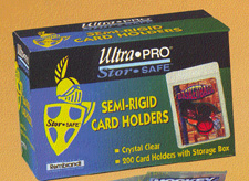 Ultra-Pro # 81150 Semi-Rigid Protectors 1/2 (Case of 2,000)