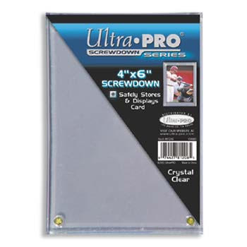 Ultra-Pro #81206 4 x 6 Screwdowns 1/4