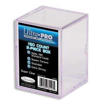 Ultra-Pro #81147  150 ct. Storage Box