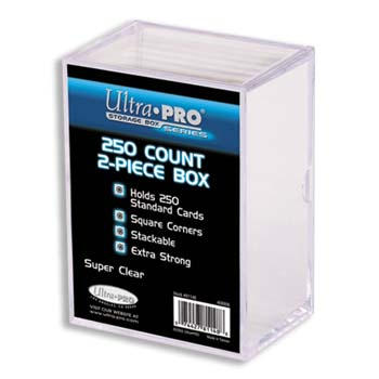 Ultra-Pro #81148  250 ct. Storage Box