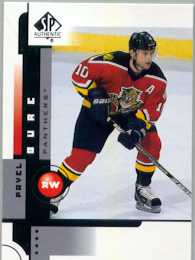 2001-02 SP Authentic Sample #10 Pavel Bure