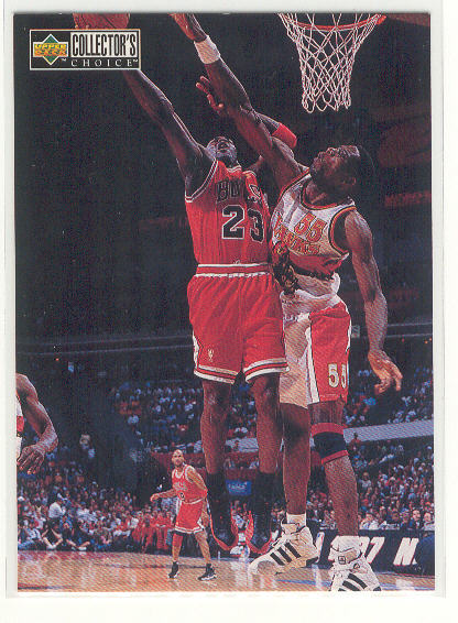 1997-98 Collector's Choice #386 Michael Jordan MM