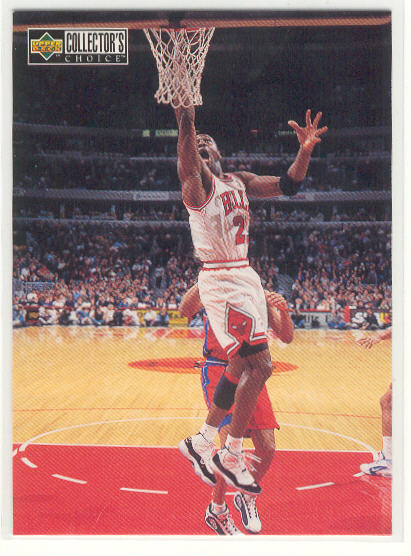 1997-98 Collector's Choice #388 Michael Jordan MM