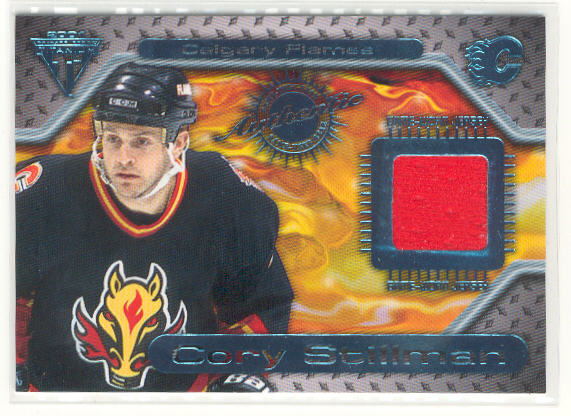 2000-01 Titanium Game Gear #71 Cory Stillman
