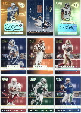 2001 Playoff Preferred National Treasures Silver #36 Curtis Martin