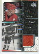 2000-01 Upper Deck Legends Legendary Game Jerseys #JSY Steve Yzerman front image