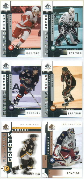 2001-02 SP Authentic #147 Sean Selmser RC