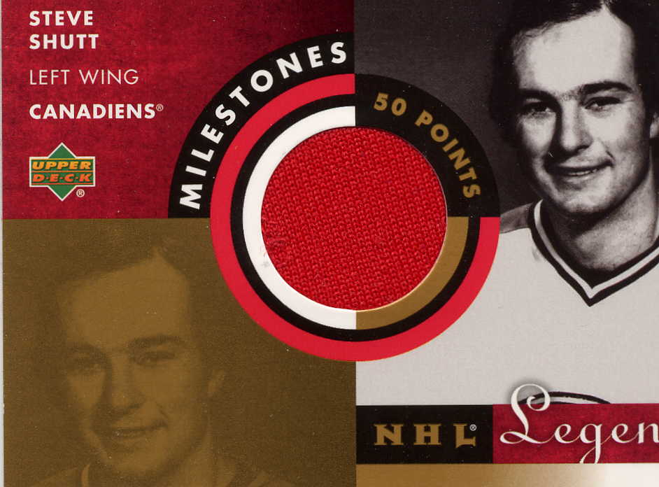 2001-02 Upper Deck Legends Milestones Jerseys #MSS Steve Shutt