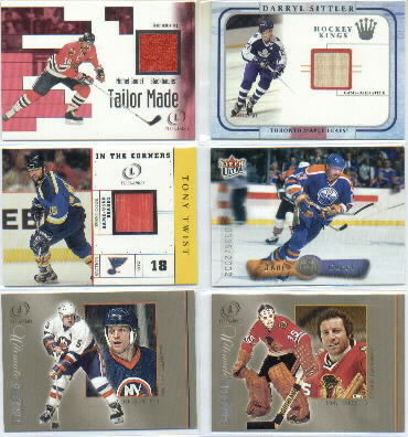 2001-02 Fleer Legacy Ultimate #17 Tony Esposito front image