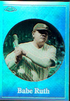 2001 Topps Chrome Before There Was Topps Refractors #BT2 Babe Ruth