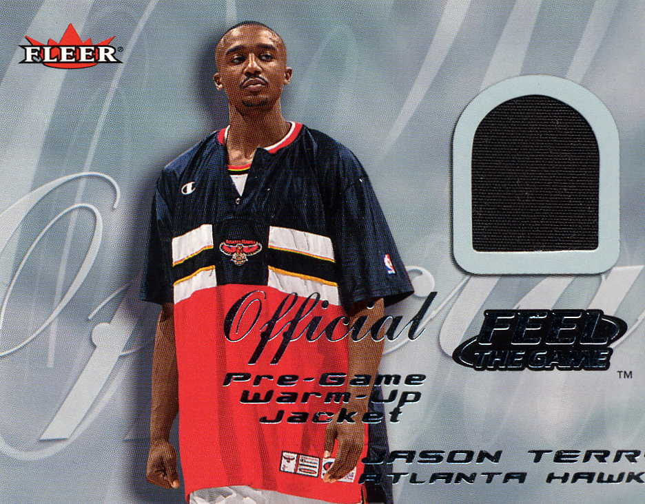 2000-01 Fleer Feel the Game #33 Jason Terry