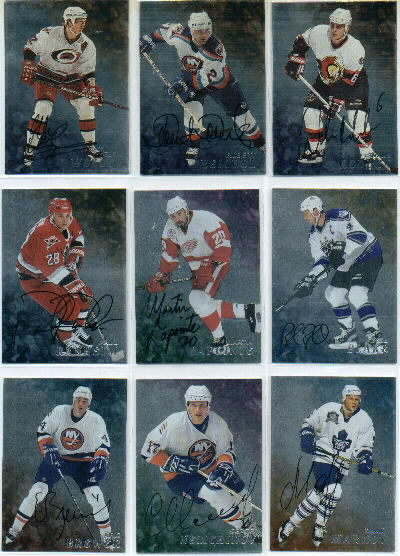 1998-99 Be A Player Autographs #212 Rob Blake