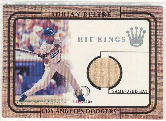 2001 Fleer Legacy Hit Kings #4 Adrian Beltre