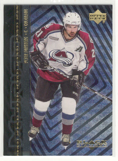 2000-01 Black Diamond Myriad #CC2 Peter Forsberg