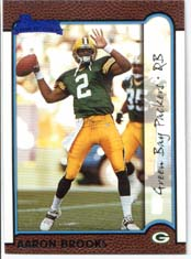 1999 Bowman Packers Team Set with Aaron Brooks Rookie Card