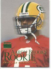 1999 SkyBox Premium Packers Team Set with Aaron Brooks Rookie Card