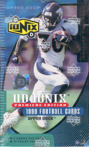 1999 Upper Deck Ionix NFL Football Hobby Box