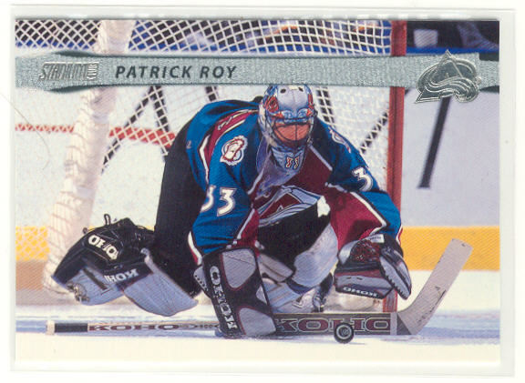 2001-02 Stadium Club #87 Patrick Roy