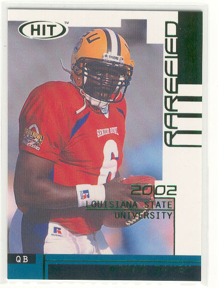 2002 SAGE HIT Rarefied Emerald #R6 Rohan Davey