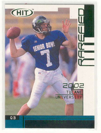 2002 SAGE HIT Rarefied Emerald #R27 Patrick Ramsey
