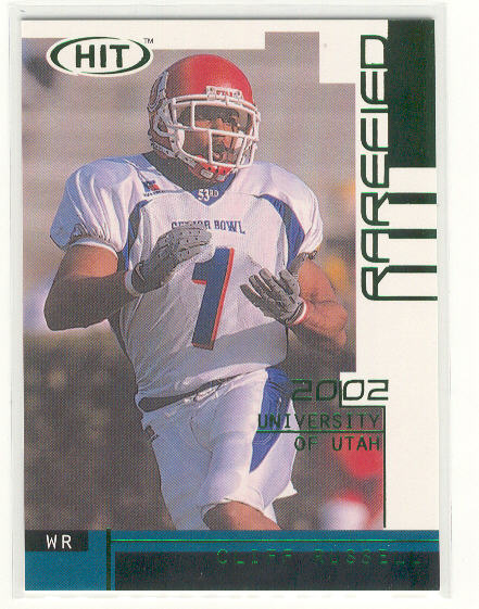 2002 SAGE HIT Rarefied Emerald #R31 Cliff Russell