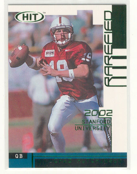 2002 SAGE HIT Rarefied Emerald #R35 Chad Hutchinson