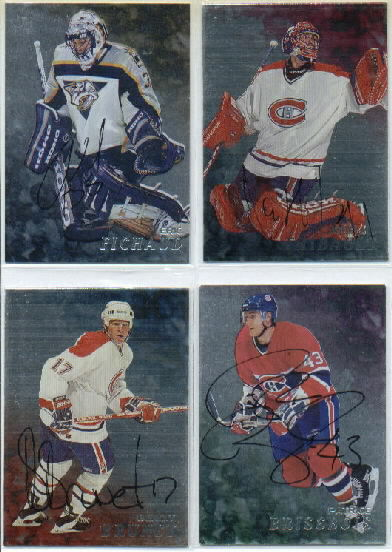 1998-99 Be A Player Autographs #66 Jocelyn Thibault