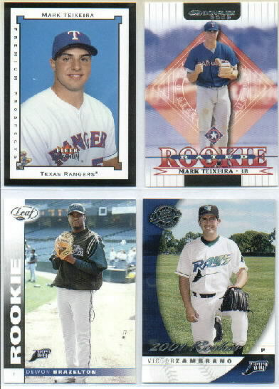 2001 Donruss Class of 2001 #116 Victor Zambrano/1875 RC