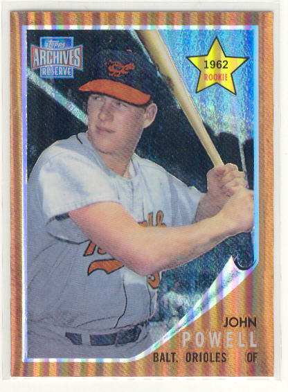 2001 Topps Archives Reserve #95 Boog Powell 62