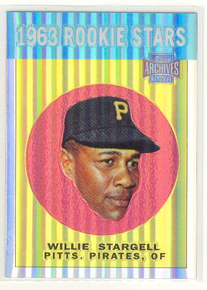 2001 Topps Archives Reserve #96 Willie Stargell 63