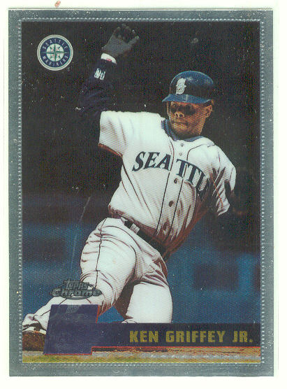 1996 Topps Chrome #70 Ken Griffey Jr.