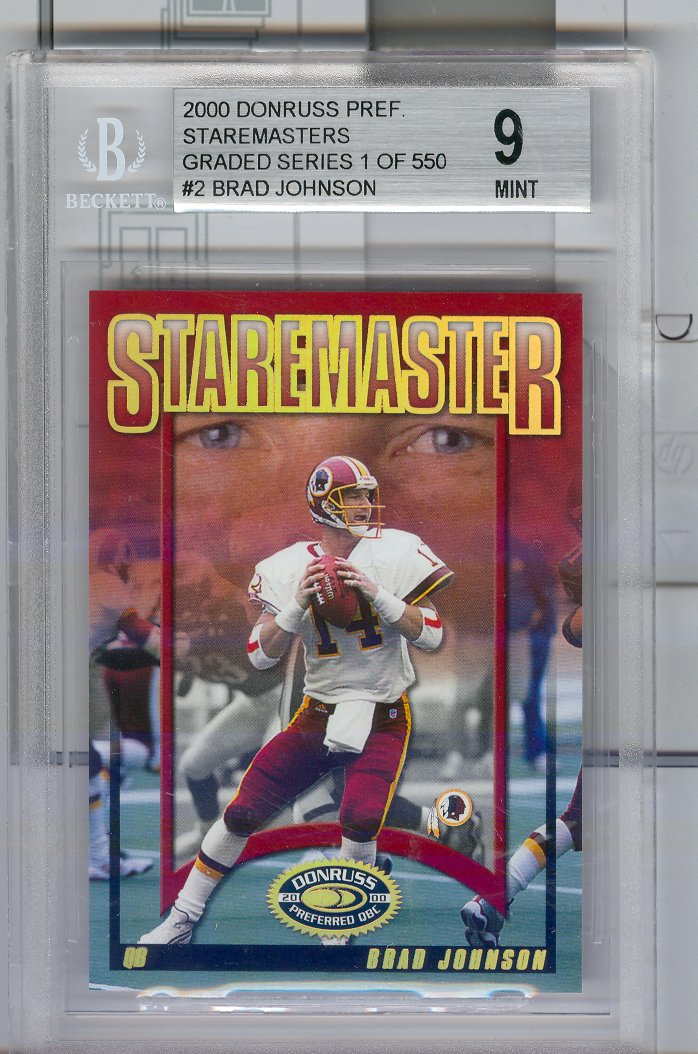 2000 Donruss Preferred Staremasters #SM2 Brad Johnson