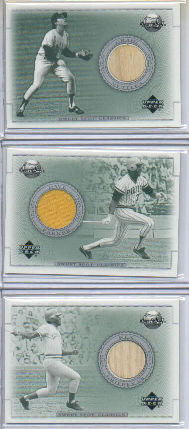 2002 Sweet Spot Classics Game Bat #BGN Graig Nettles