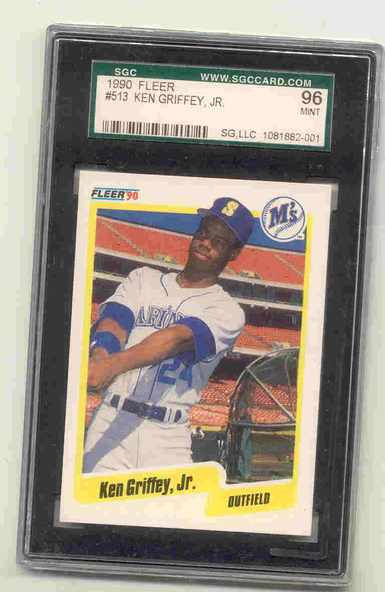 1990 Fleer #513 Ken Griffey Jr.
