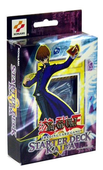 2002 Yu-Gi-Oh! KaiBa English Unlimited Starter Deck (Set, Box) (50 Cards/Deck  Includes 3 Foil Cards: Blue Eyes White Dragon, Lord of D., Flute of Summoning Dragan) Factory Sealed *** In Stock ***