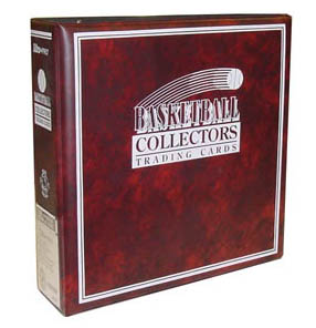 Ultra Pro Collectors Binder, Basketball
