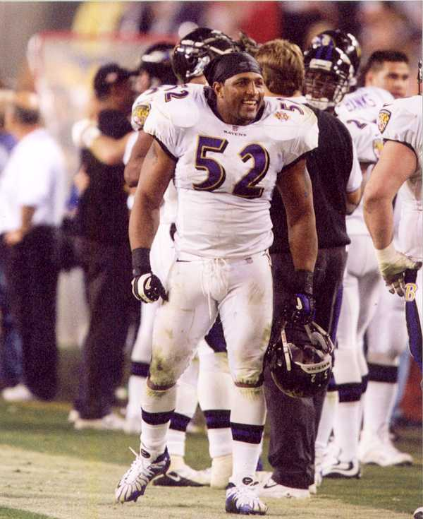 Baltimore Ravens Ray Lewis Superbowl photo