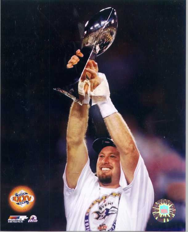 Ravens / Seahawks Trent Dilfer  color photo