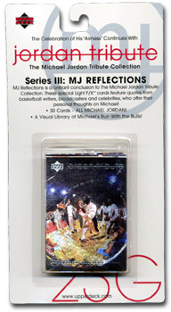 Jordan Tribute Series Three: MJ Reflections