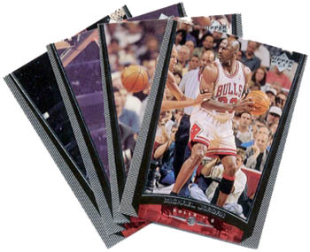 Michael Jordan 1998-99 Upper Deck 23-Card Subset