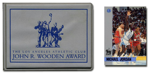 Michael Jordan, John R. Wooden Award 21-Card Set