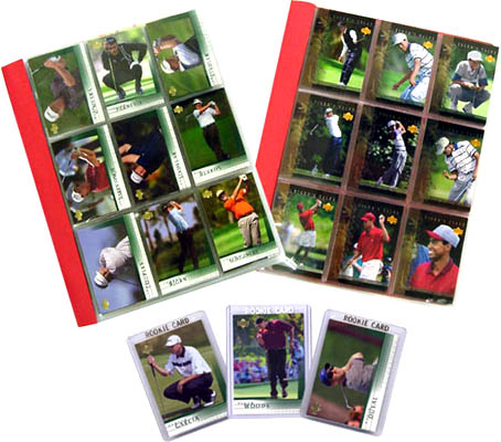 2001 Upper Deck Golf 200-Card Complete Set with Bonus 30-Card Tiger Tales Set